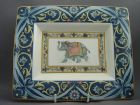 Wedgwood - Tray, Blue Elephant